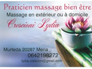Lydia Crescioni - Praticien Massage Bien-être - Cap Corse Capicorsu