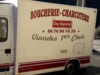 Marchands Ambulants : Boucherie Chez Raymond... sur les routes du Cap