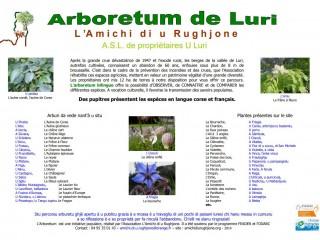 Arboretum - Cap Corse Capicorsu