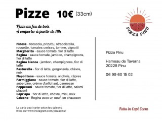 Pizzapinu - Food Truck - Cap Corse Capicorsu