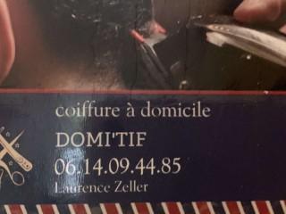 Domi Tif - Coiffeuse à domicile - Cap Corse Capicorsu