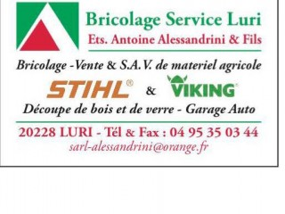 ETS Alessandrini & Fils - Luri - Cap Corse Capicorsu