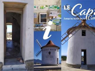 Bureau d'Information Touristique - Moulin Mattei - Ersa Cap Corse