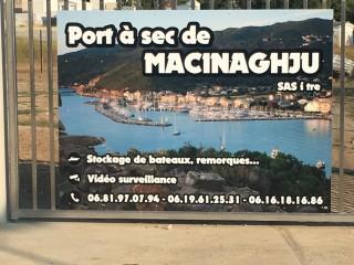 Port à Sec de Macinaghju - Cap Corse Capicorsu