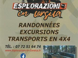 Esplorazioni in Corsica - Randonnées - Excursions 4X4 - Cap Corse