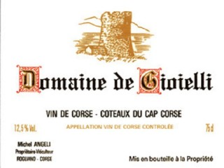 Domaine de  Gioielli - Cap Corse Capicorsu