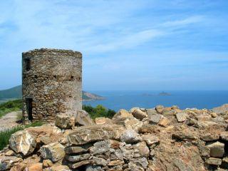 Moulin de la Punta di a Coscia - Cap Corse Capicorsu