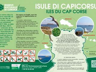 L\'ilot de Capense - Réserve Naturelle des Iles du  Cap Corse