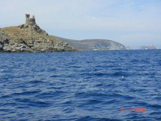 Tour de la Finocchiarola - Cap Corse Capicorsu