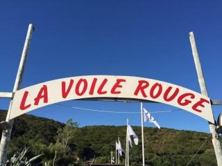 La Voile Rouge - Plage Misincu - Porticciolo - Cap Corse Capicorsu
