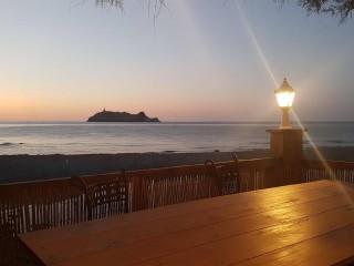 Les Tamaris - Paillote - Barcaggio - Ersa - Cap Corse