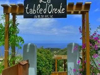 La Table d'Oreste - Cap Corse Capicorsu
